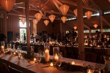 wedding reception decor by Tobey Nelson for a fireseed catering wedding
