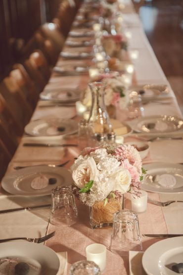 head table flower arrangement