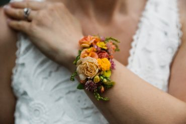 Flower tattoo for the wrist by Tobey Nelson Events