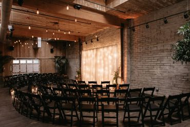 Gay wedding ceremony at Within Sodo in Seattle