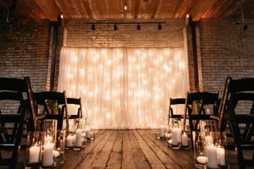Seattle gay wedding ceremony decor