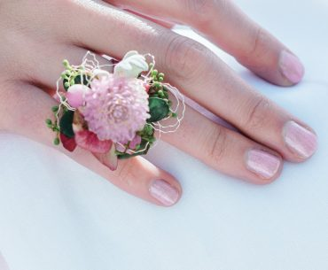 flower ring for a bridesmaid