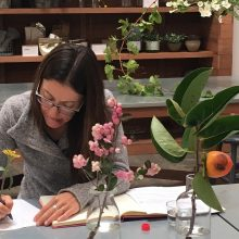 learn to write for your brand at whidbey island flower workshop