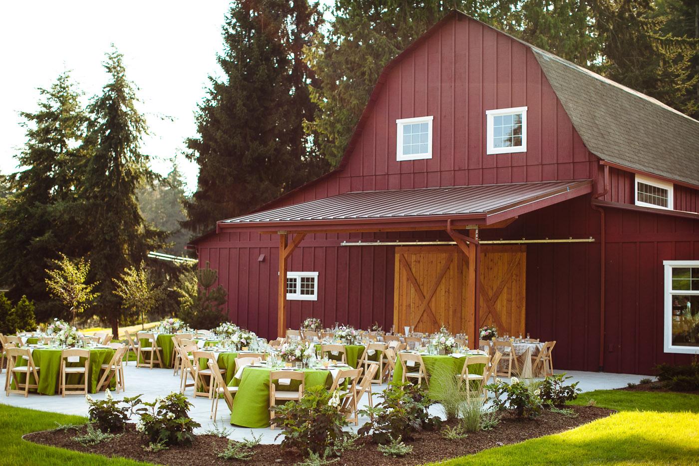 whidbey island barn venue