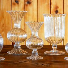 Whidbey Island wedding rentals Romantic glass vase collection