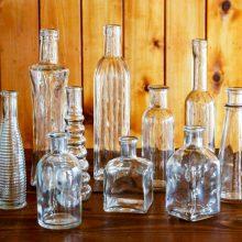 Whidbey Island wedding rentals Bottle collection