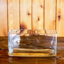 Whidbey Island wedding rentals glass trough vase