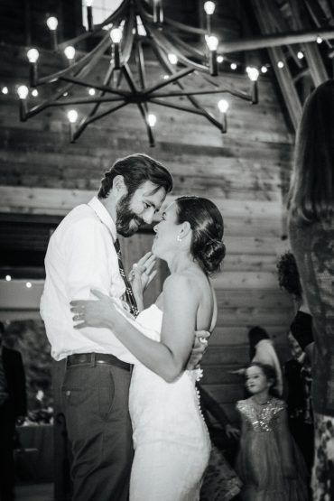 First Dance for Whidbey Island Wedding Couple