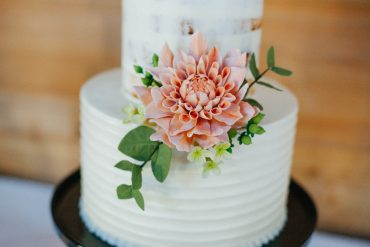 Wedding cake by Honeycrumb Cakes