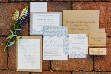 invitations to a Whidbey Island Wedding