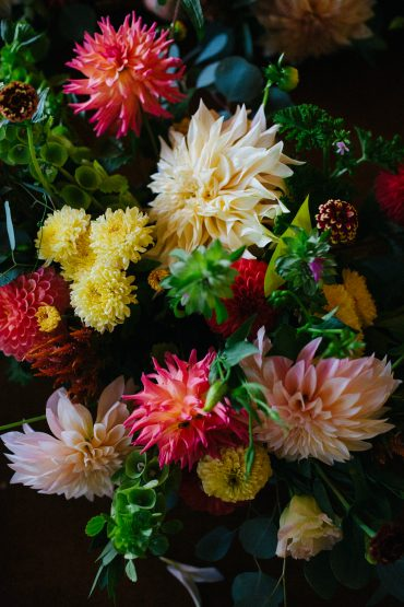 Dahlias, Chrysanthemums and other fall flowers