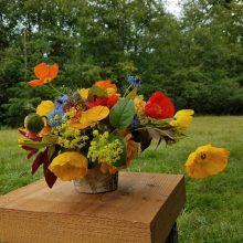 Whidbey Island flower arrangements summer bouquet