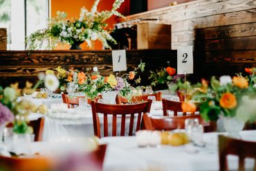 Charity Fundraiser flowers and event design on Whidbey Island