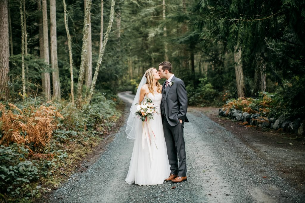 Spring Woods Wedding on Whidbey Island