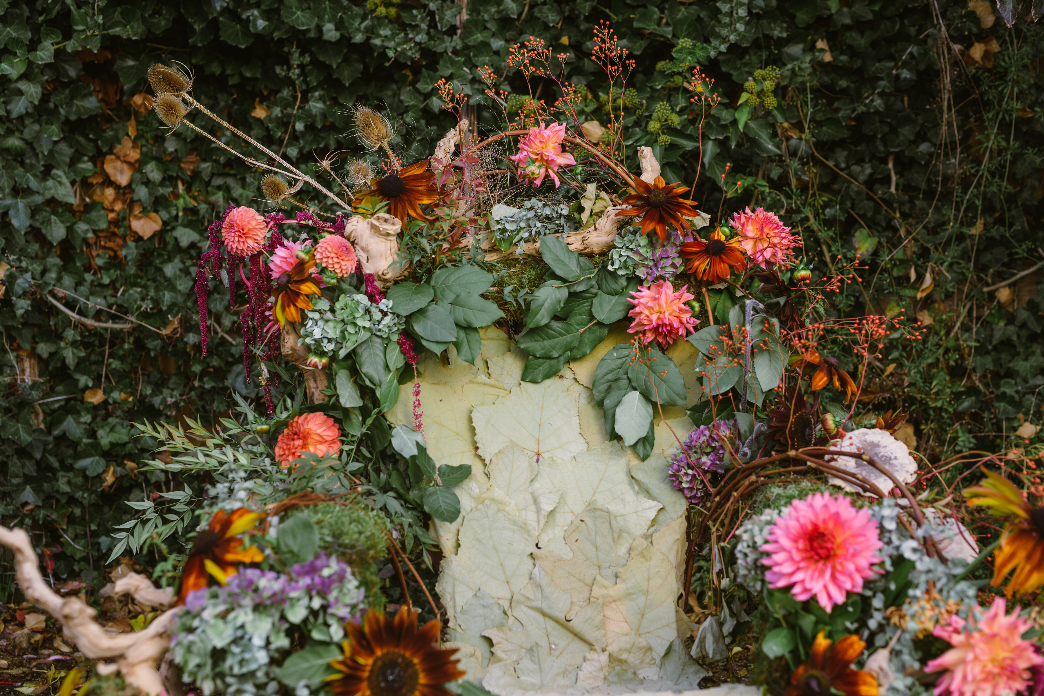 Queen of Autumn Styled Shoot by Tobey Nelson Events photography by ...