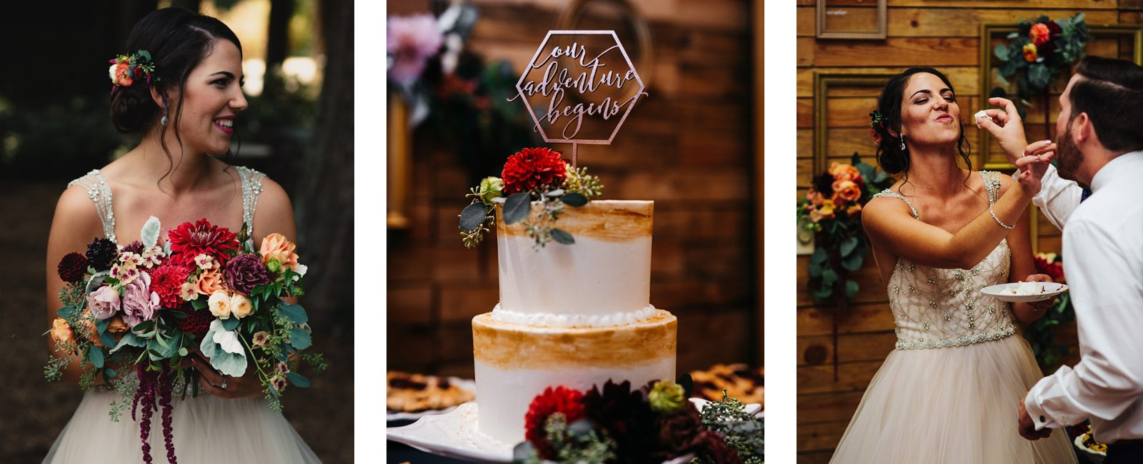 Wedding Cake by Fireseed Catering