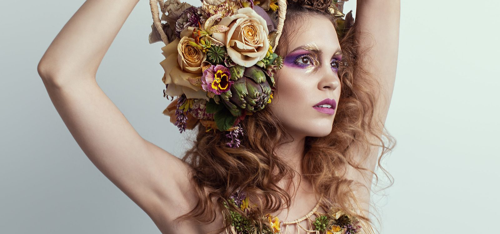 Floral Wearable Art by Tobey Nelson image by Shannon Beauclair photography (8)