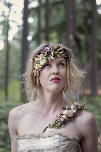 Floral tattoos by Whidbey Flower workshop teacher Susan Mcleary