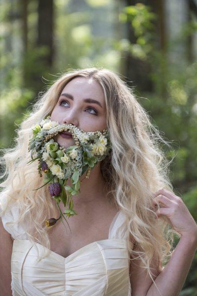 A floral beard!