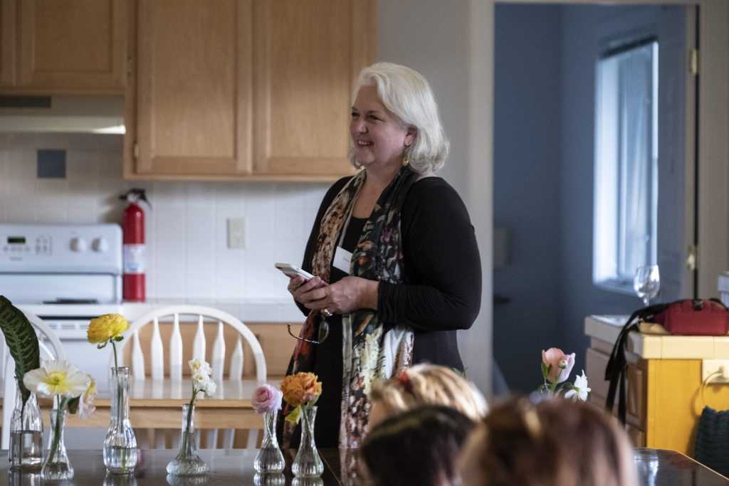 Whidbey Flower Workshop instructor Debra Prinzing teaches writing your floral story