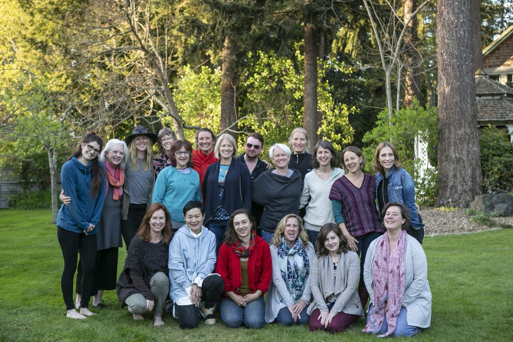 Students and Instructors of the Whidbey Flower Workshop 2018