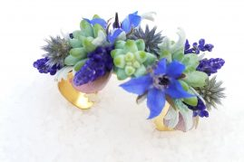 Floral bracelets are a great corsage option | Tobey Nelson Events