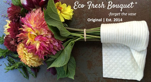 EcoFresh Bouquet Wraps are sponsors of the Whidbey Flower Workshop 2019