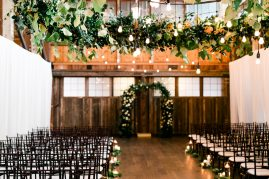 Sodo Park Seattle wedding ceremony design by Tobey Nelson Events | image by Alante Photography