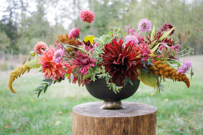 Centerpiece by Tobey Nelson Events for Art of the Table Centerpieces workshop