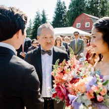 colorful wedding flowers by Tobey Nelson Events | Photo by John Lao