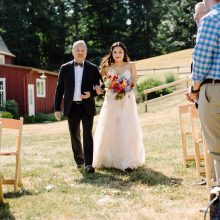Whidbey Island wedding coordination by Tobey Nelson Events | Dancing Fish Vineyards wedding