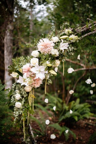 Ceremony floral detail | Tobey Nelson Events | J Tobiason Photography