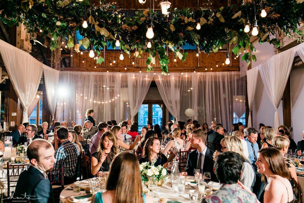 Seattle wedding fun! | Seattle Wedding at Sodo Park | Floral and Event design by Tobey Nelson | image by Alante Photography