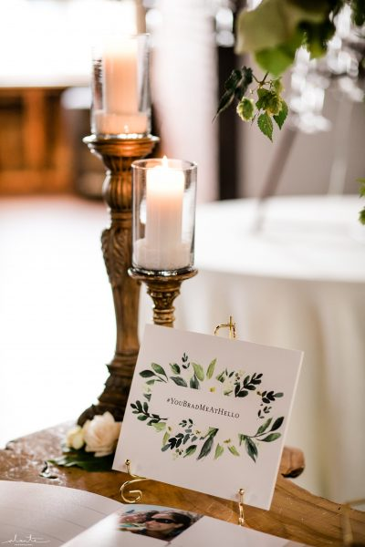 Guestbook table details | Seattle Wedding at Sodo Park | Floral and Event design by Tobey Nelson | image by Alante Photography