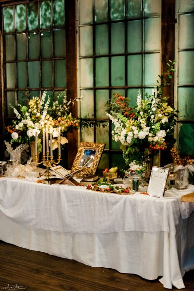 Sofreh Aghd table for a Persian wedding | Seattle Wedding at Sodo Park | Floral and Event design by Tobey Nelson | image by Alante Photography