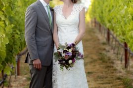 Whidbey Island wedding at Dancing Fish Vineyards | florals and planning by Tobey Nelson Events | image by Stadler Studio