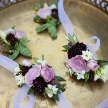 Corsages and boutonnieres by Whidbey Island Florist Tobey Nelson | image by Stadler Studio