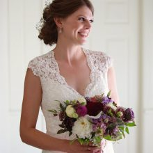 Bridal bouquet by Whidbey Island Florist Tobey Nelson | image by Stadler Studio