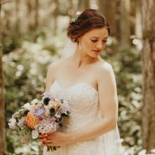 Whidbey Island wedding flowers and planning by Tobey Nelson Events | Hair by Anne Timss | photo by Jordan Voth