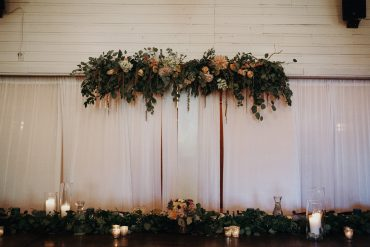 Foam-free Floral Installation | Tobey Nelson Events | Fireseed Catering, Whidbey Island | Jordan Voth Photography