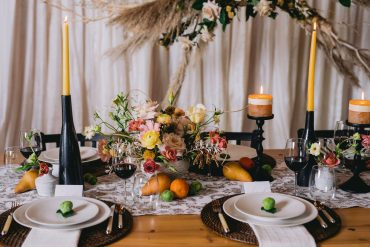 Styled Shoot for black, buff and beewax inspiration | Tobey Nelson Events + Design | Suzanne Rothmeyer Photography