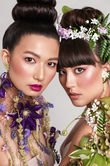 Flowers to wear botanical couture by Tobey Nelson