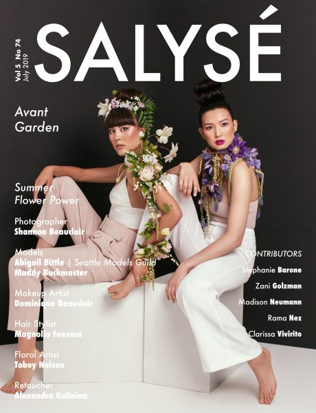 Floral Artwork of Tobey Nelson published in Salyse magazine