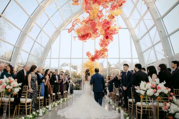 Chihuly Glass Garden Wedding Flowers by Tobey Nelson Events | photos by GH Kim Photography