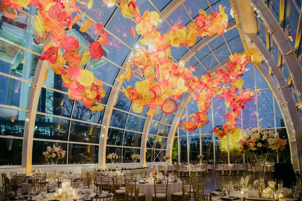 Chihuly Glass Garden Tobey Nelson Weddings Events
