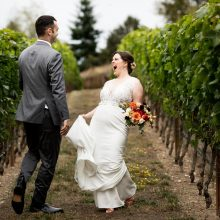 farm-to-table Dancing Fish Vineyards wedding