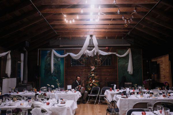 Rosemary Hall wedding reception