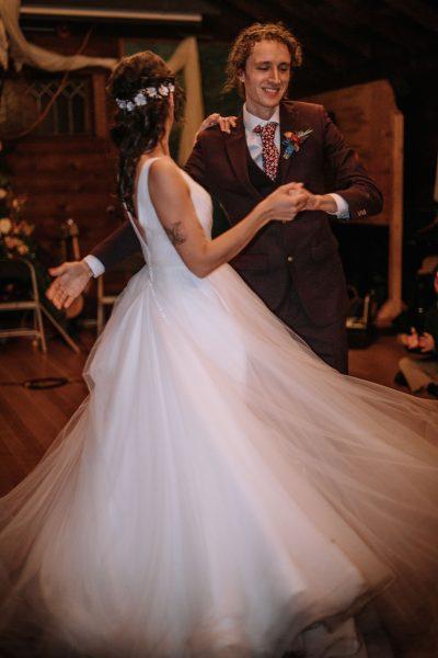 First dance at a NatureBridge wedding