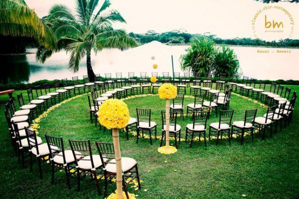 spiral wedding seating layout